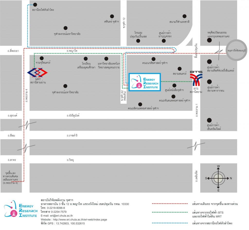 ERI Chula_Driving_map
